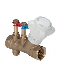 "1 1/2"" Flowcon IVC DZR static balancing valve"